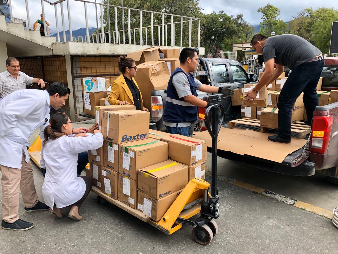 Más de 22 mil dólares se entrega en donativos a hospital de Loja